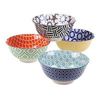 Certified International Chelsea 4-pc. Soup / Cereal Bowl Set