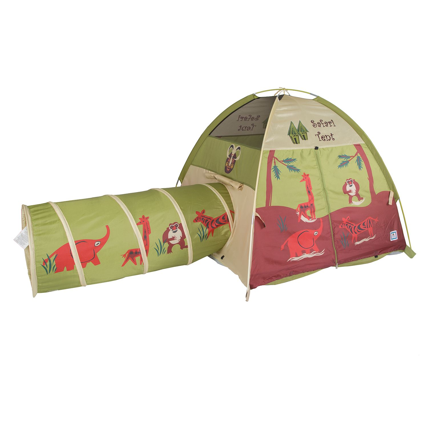 Pacific Play Tents Jungle Safari Tent u0026 Tunnel Combo  sc 1 st  Kohlu0027s & Pacific Play Tents Outdoor Play Toys Toys | Kohlu0027s