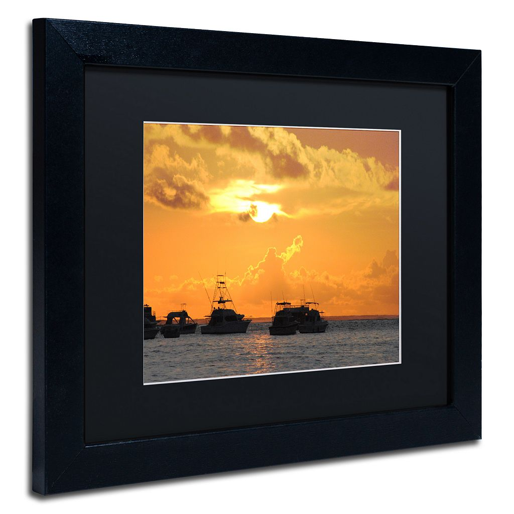 Trademark Fine Art Dreamily Black Framed Wall Art
