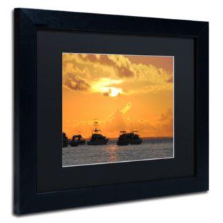 Trademark Fine Art Dreamily Black Framed Wall Art