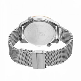 Joshua & Sons Men's Stainless Steel Mesh Watch