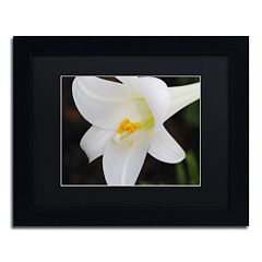 Trademark Fine Art Easter Black Framed Wall Art