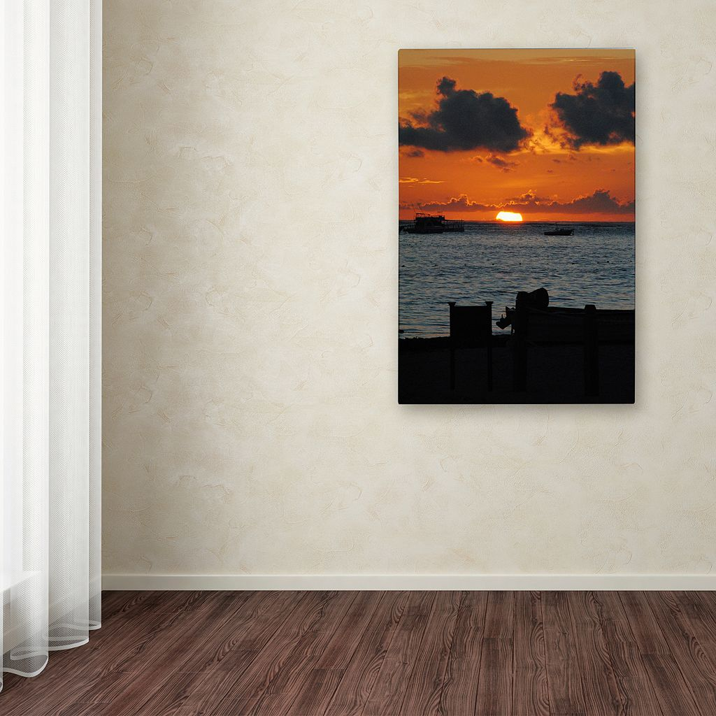 Trademark Fine Art Exhale Canvas Wall Art