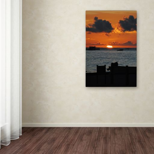 Trademark Fine Art Exhale Canvas Wall Art