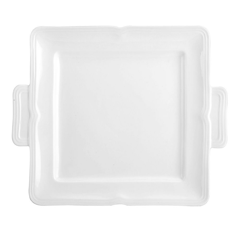 Mikasa Antique White  11-in. Square Dessert Tray