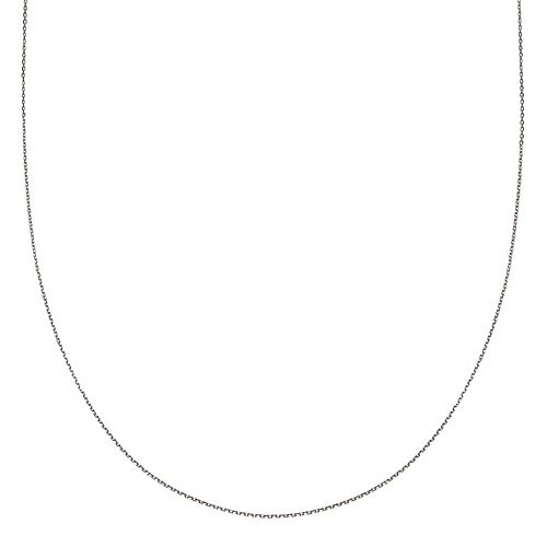 PRIMROSE Sterling Silver Flat Link Chain Necklace - 20 in.