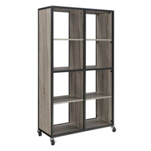 Altra Mason Ridge Oak Finish Mobile Bookshelf