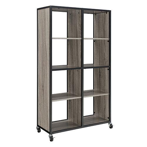 Altra Mason Ridge Oak Finish Mobile Bookshelf