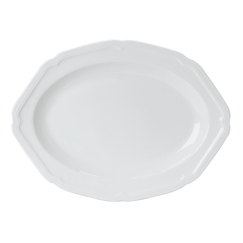 Mikasa Antique White 16-in. Oval Platter