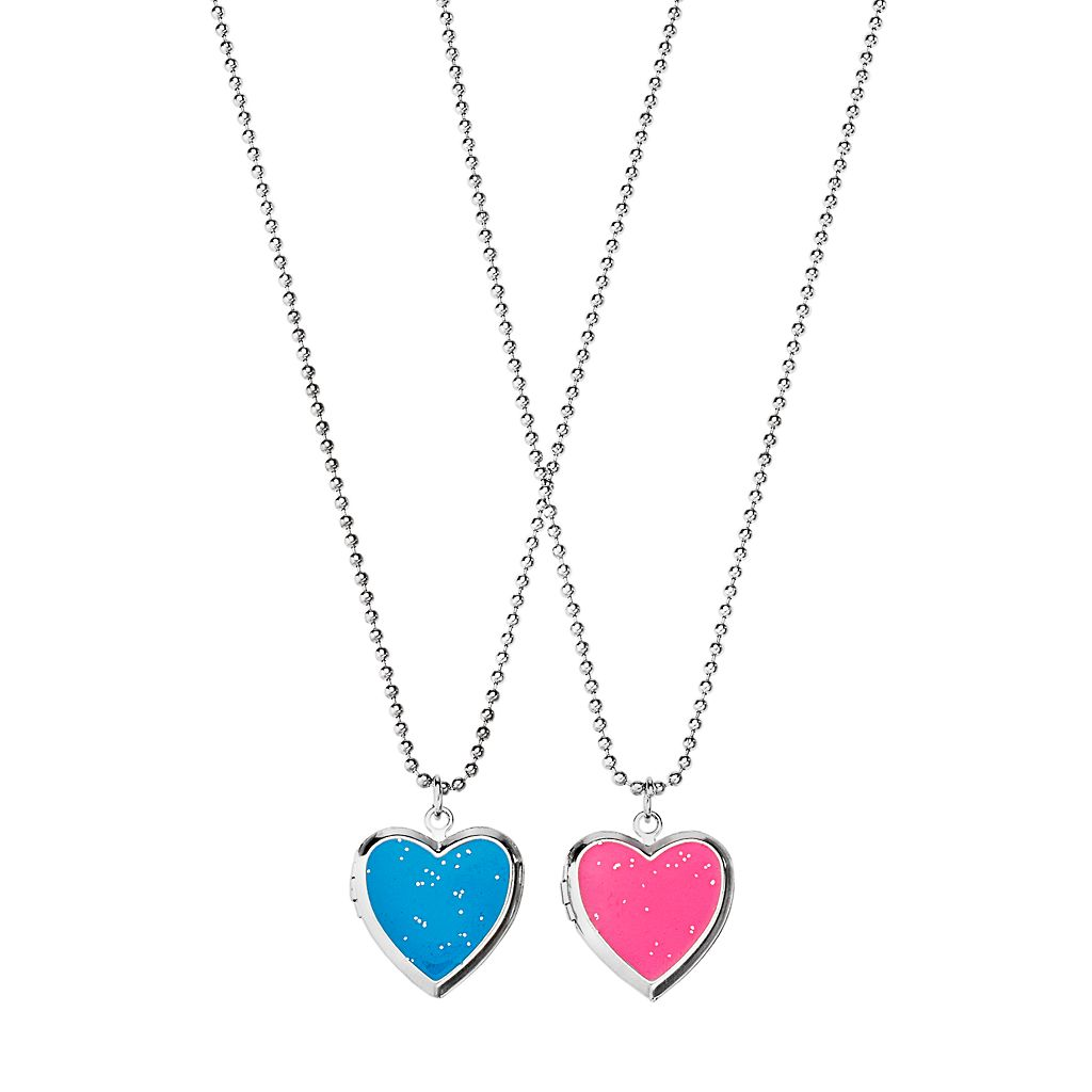 Girls 4-16 2-pc. Heart Best Friends Locket Necklace Set