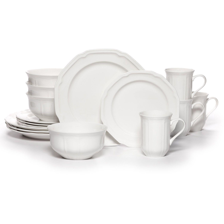 Mikasa Antique White 16-pc. Dinnerware Set  sc 1 st  Kohl\u0027s & Mikasa Antique White 16-pc. Dinnerware Set   null