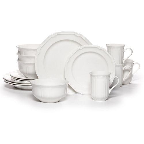 Mikasa Antique White  16-pc. Dinnerware Set