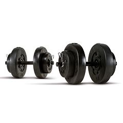 Marcy 40-Pound Vinyl Dumbbell Set