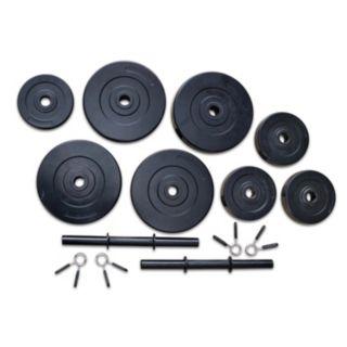 Marcy 40-Pound Vinyl Dumbbell Set