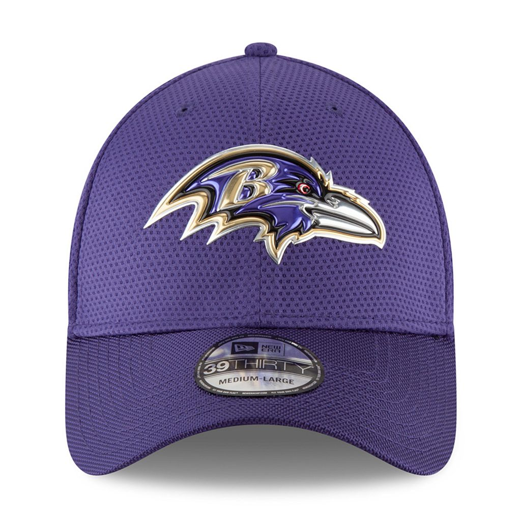 Adult New Era Baltimore Ravens 39THIRTY Color Rush Fitted Cap