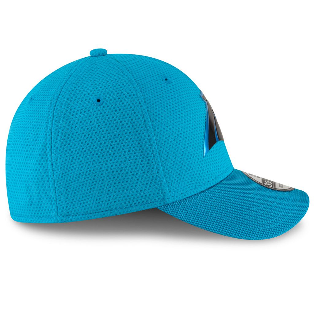 Adult New Era Carolina Panthers 39THIRTY Color Rush Fitted Cap