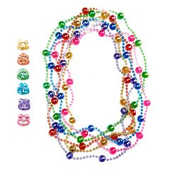 Girls 4-16 12 pc Necklace & Ring Set
