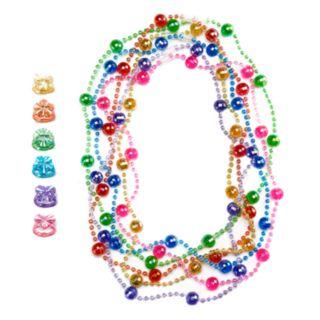 Girls 4-16 12-pc. Necklace & Ring Set