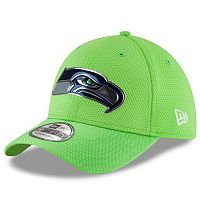 Adult New Era Seattle Seahawks 39THIRTY Color Rush Fitted Cap