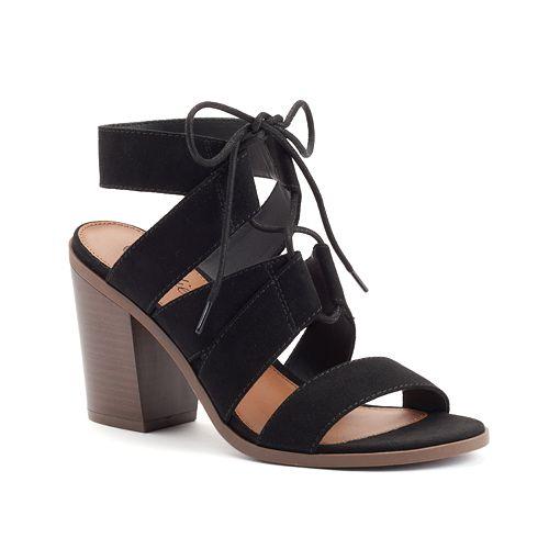 Candie's® Women's Block Heel Gladiator Sandals