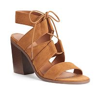 Candie's® Women's Block Heel Gladiator Sandals
