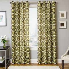 Softline 1-Panel Nala Medallion Window Curtain