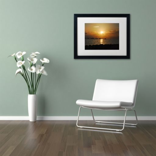 Trademark Fine Art Fairytale Black Framed Wall Art