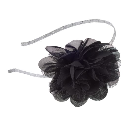 Girls 4-16 Mesh Flower Headband