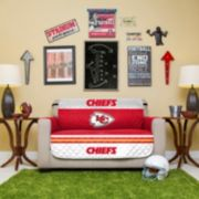 Kansas City Chiefs Quilted Loveseat Cover