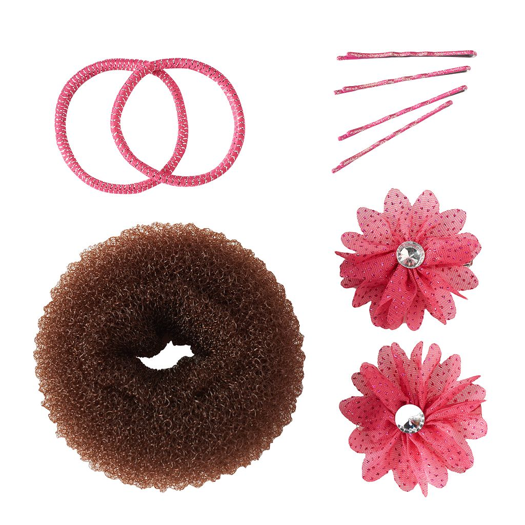 Girls 4-16 Hair Bun Shaper Set