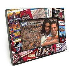 Arizona Diamondbacks Ticket Collage 4' x 6' Wooden Frame