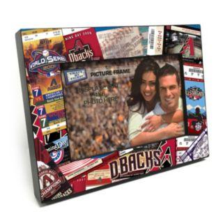 """Arizona Diamondbacks Ticket Collage 4"""" x 6"""" Wooden Frame"""
