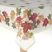 Celebrate Fall Together Leaves Tablecloth