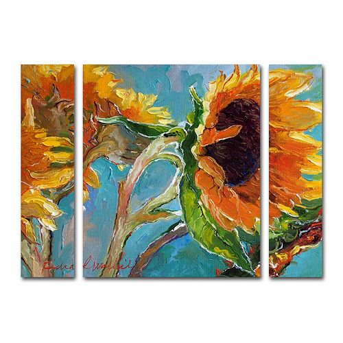 Trademark Fine Art Richard Wallich Sun 11 Multi-Panel Art Set