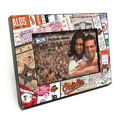 Baltimore Orioles Ticket Collage 4' x 6' Wooden Frame