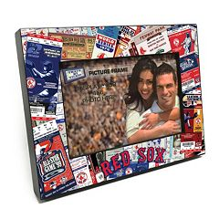 Boston Red Sox Ticket Collage 4' x 6' Wooden Frame