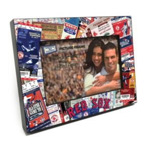 "Boston Red Sox Ticket Collage 4"" x 6"" Wooden Frame"