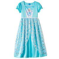 Disney's Frozen Girls 4-10 Fantasy Dress-Up Nightgown