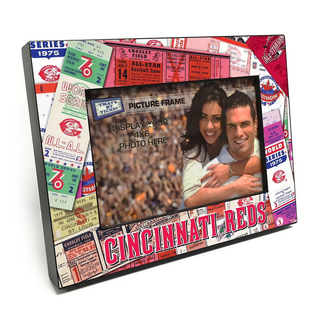 Cincinnati Reds Ticket Collage 4