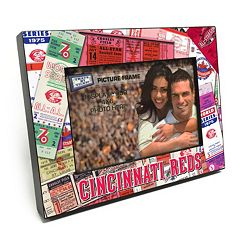Cincinnati Reds Ticket Collage 4' x 6' Wooden Frame