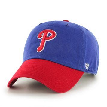 Adult '47 Brand Philadelphia Phillies Road Clean Up Adjustable Cap