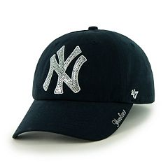 Women's '47 Brand New York Yankees Sparkle Adjustable Cap