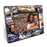 Colorado Rockies Ticket Collage 4' x 6' Wooden Frame