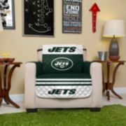 New York Jets Quilted Chair Cover