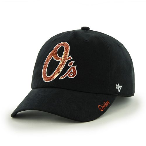 Women's '47 Brand Baltimore Orioles Sparkle Adjustable Cap