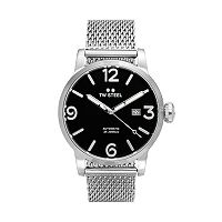 TW Steel Men's Maverick Stainless Steel Mesh Automatic Watch - MB15