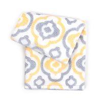 Tadpoles Textured Jacquard Clover Trellis Plush Baby Blanket