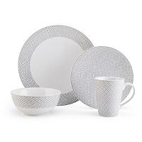 Mikasa Avery Dots 4 pc Place Setting