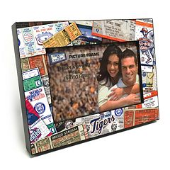 Detroit Tigers Ticket Collage 4' x 6' Wooden Frame