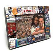 Houston Astros Ticket Collage 4' x 6' Wooden Frame
